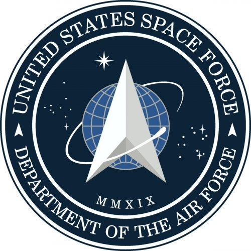 A new logo for the US Space Force being added by the Trump administration as a sixth branch of the US military, is seen in this handout image released by US President Donald Trump from the White House in Washington, U.S. January 24, 2020. (Photo: The Whit