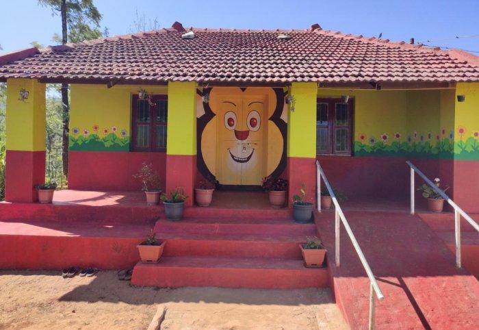 The Government Lower Primary School at Heradike in Galigandi.