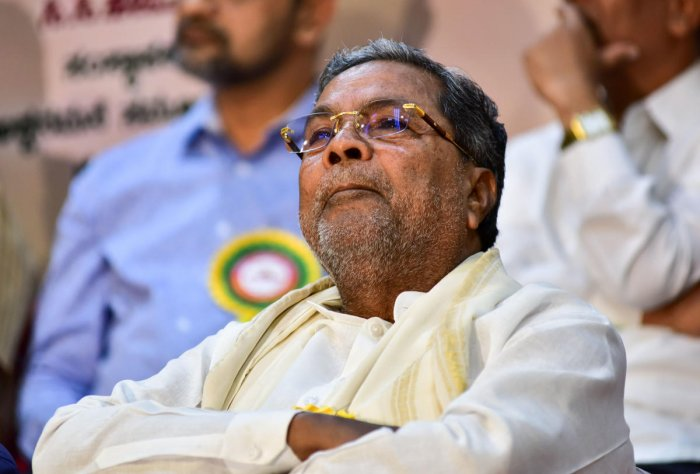 """""""Funds are not being released for Centrally-sponsored schemes, the state's tax share isn't coming, GST compensation hasn't been given. And Cabinet expansion is not being permitted. Why is the Modi-Shah combo so angry with Karnataka?""""he said."""