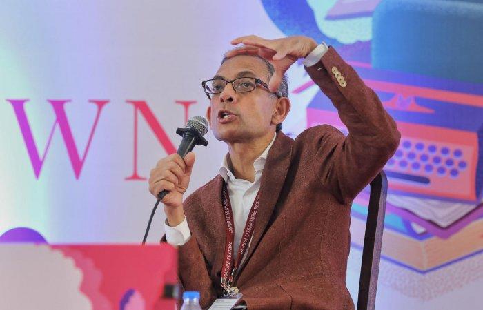 Noble Laureate Abhijit V Banerjee. (PTI Photo)