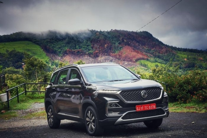 MG Hector picture (DH Photo)