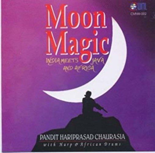 The album cover of 'Moon Magic'