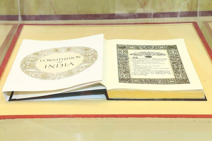 Constitution of India. (DH Photo)