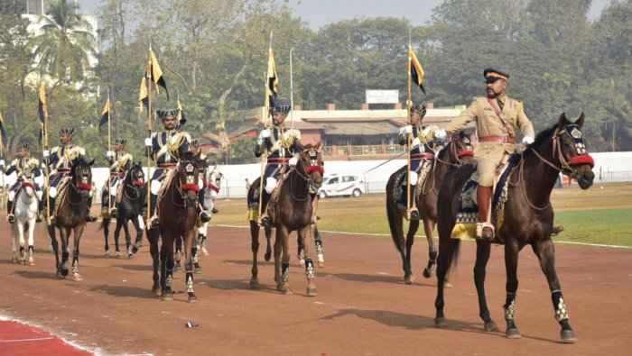 The mounted police unit, which would patrol the streets of the bustling metropolis, had been disbanded in 1932 due to growing vehicular traffic. Credit: Twitter (@AUThackeray)