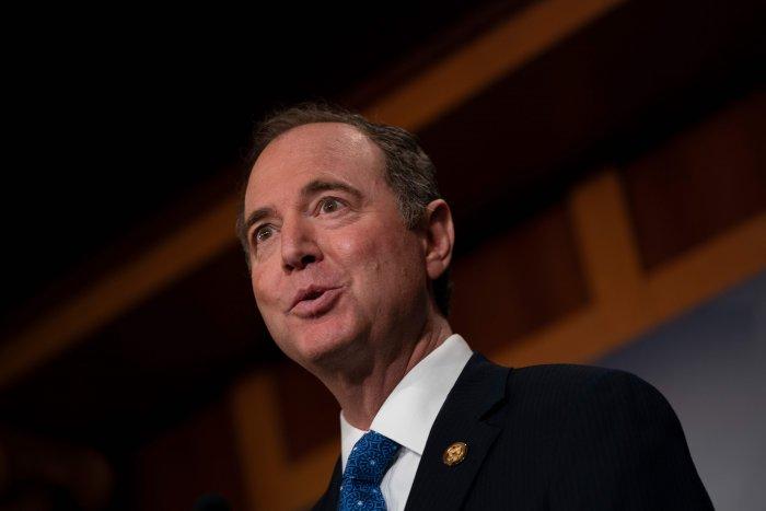 House Manager Adam Schiff. (AFP Photo)