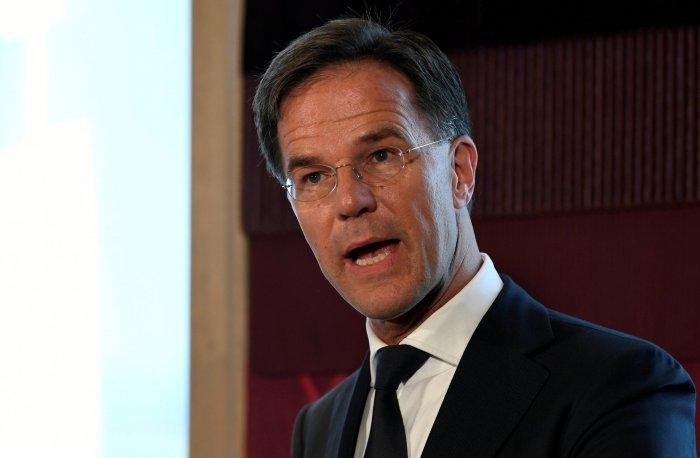 Dutch Prime Minister Mark Rutte. (Reuters Photo)