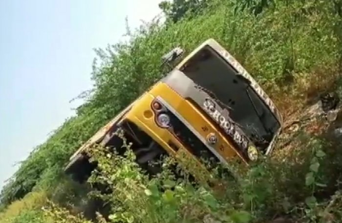 The accident site. (ANI Photo)