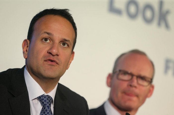 """Varadkar, in an interview with the BBC, compared the two sides to soccer teams and suggested that the EU would have the """"stronger team"""" due to its larger population and market. Credit: Reuters Photo"""
