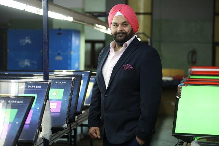 Mr. Avneet Singh Marwah, Director and CEO of Super Plastronics Pvt. Ltd, a Kodak brand Licensee.
