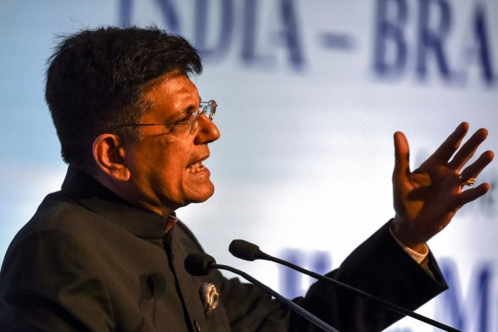 Commerce and Industry Minister Piyush Goyal. (AFP Photo)