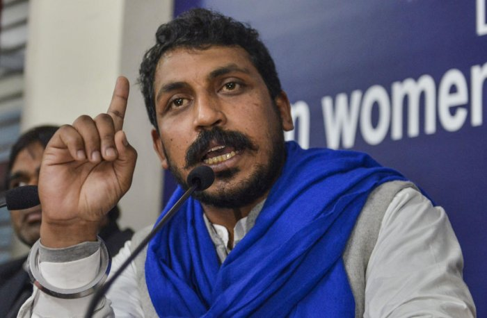 Taking to Twitter, Azad said that dictatorship in Telnagana was at its peak and that people's right to protestwas being snatched.Credit: PTI Photo