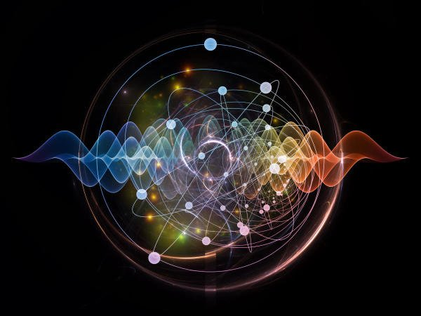 Atomic series. Abstract concept of atom and quantum waves illustrated with fractal elements. (DH File Photo)