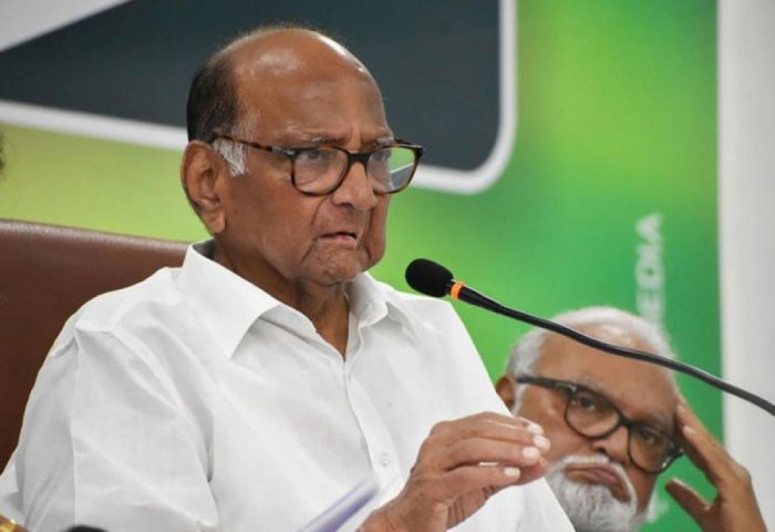 """""""Those who lacked any family background in politics became ministers in the Vikas Aghadi government purely on merit,"""" the NCP supremo said."""
