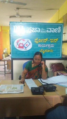 Deputy Director for PU Education B N Nagarathna. (DH Photo)