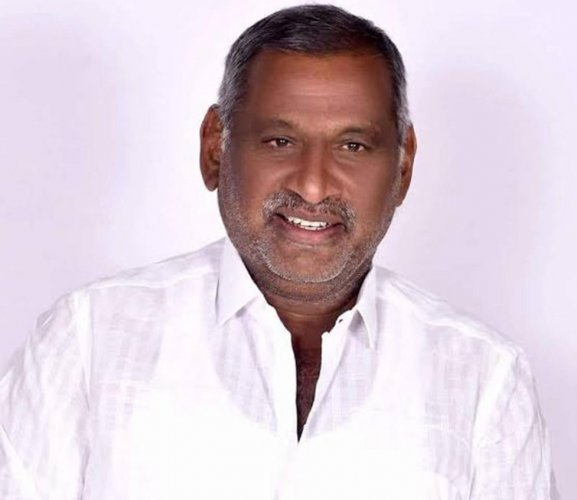 Law Minister J C Madhuswamy