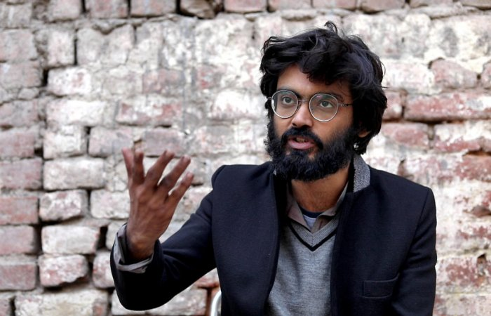 """The Delhi police claimed the anti-CAA activist had given an """"inflammatory"""" speech earlier on the Jamia Millia Islamia campus and lodged an FIR against him in the national capital. Credit: Reuters Photo"""