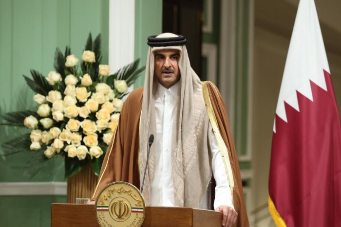 Emir of Qatar Tamim bin Hamad al-Thani. Credit: AFP Photo