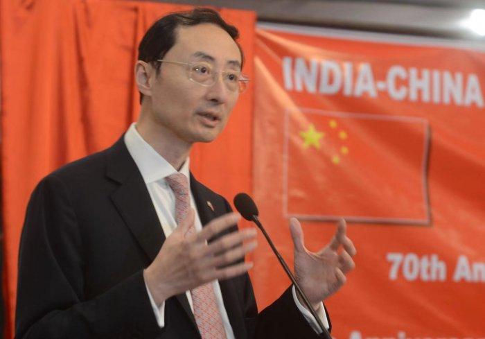 Sun Weidong, China's ambassador to India. (Twitter Image/@China_Amb_India)