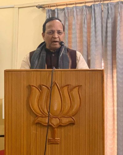 BJP national general secretary Arun Singh