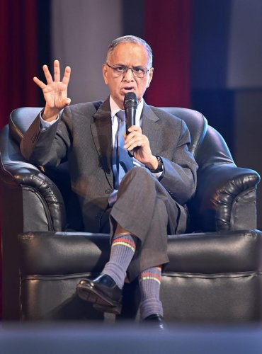 N R Narayana Murthy, the co-founder of software giant Infosys