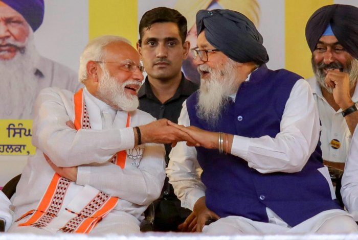 The BJP wanted the Akali Dal to drop its demand for inclusion of Muslims in CAA. Badal, son of former Punjab Chief Minister Parkash Singh Badal, had demanded that Muslims should be included in the CAA while participating in the debate in Parliament but had voted in favour of the Bill.
