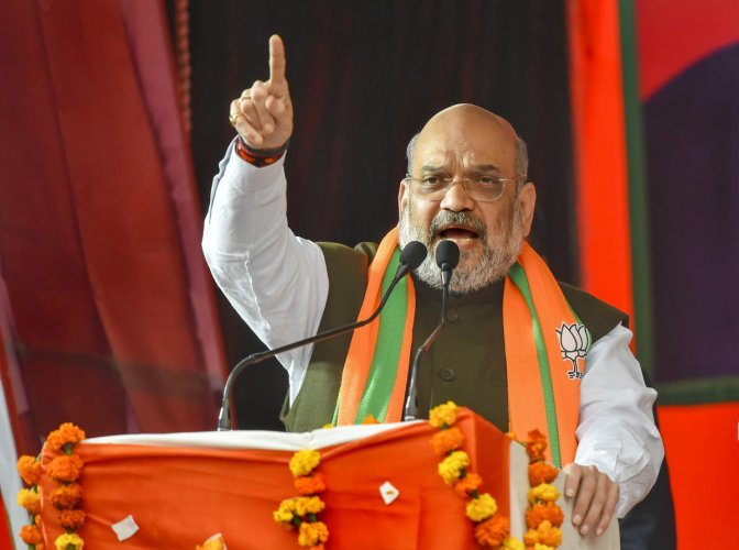 Shah, who stepped down as BJP president a few days ago, was addressing a gathering of party workers and intellectuals at the partys state office Kushabhau Thakre Parisar here.