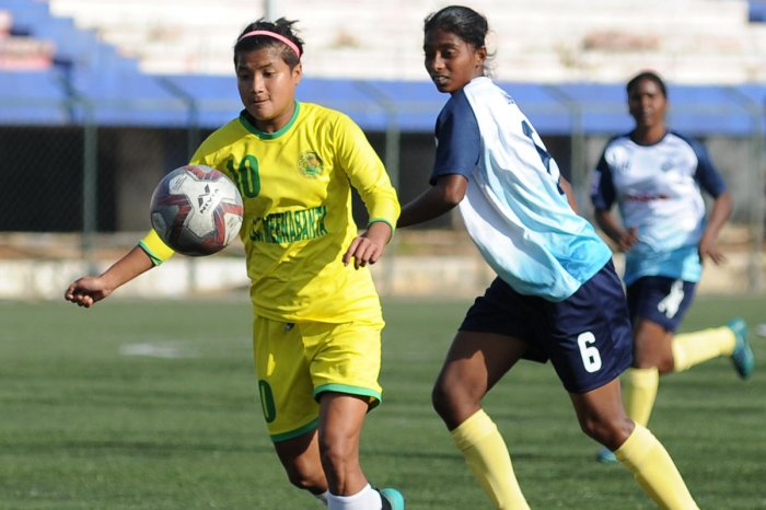 Nongmaithem Ratanbala Devi rattles out the number of countries she has visited while playing for the Indian national team.