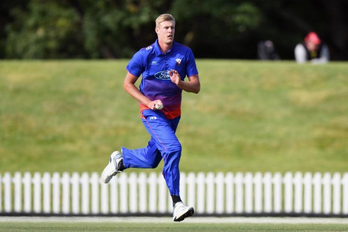The 25-year-old had impressed during the One-day series against India A, taking six wickets. Credit: Twitter (@ICC)