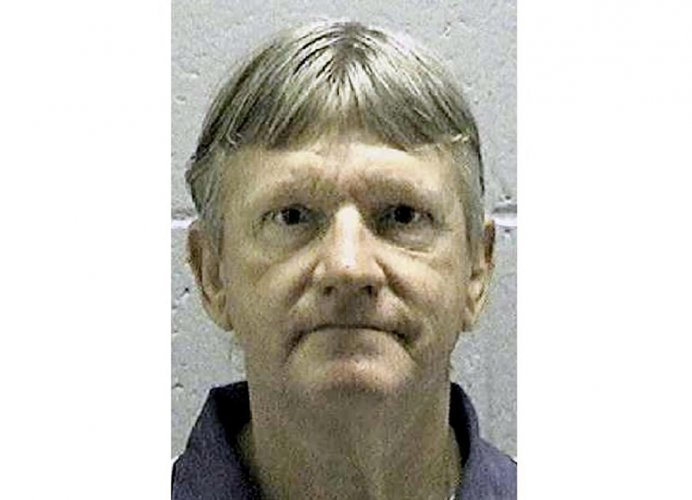 This undated file photo obtained January 29, 2020 courtesy of the Georgia Department of Corrections, shows death row inmate Donnie Cleveland Lance, who was convicted of killing his ex-wife and her boyfriend more than 20 years ago. Credit: AFP image