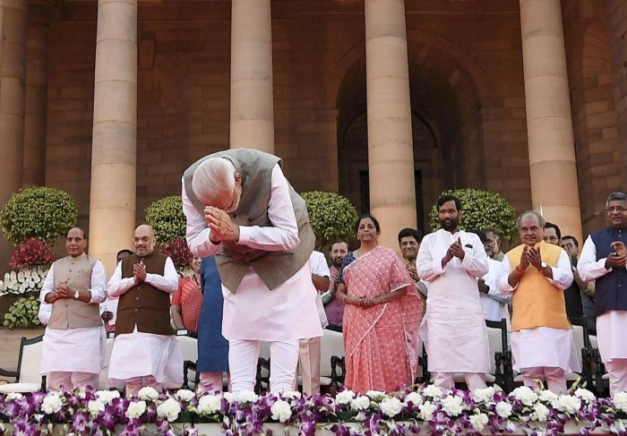 """Modi also called for a """"greater focus"""" on economic issues in the session and how India can gain in the prevailing global situation"""