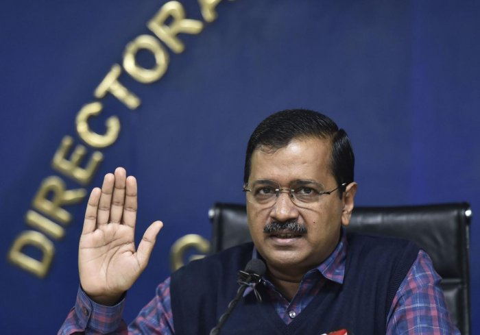 """Chief Minister Arvind Kejriwal said Delhi's law and order was """"deteriorating""""."""