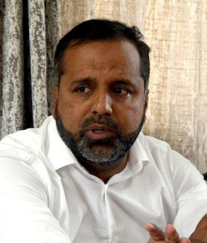 MLA and former Karnataka minister U T Khader