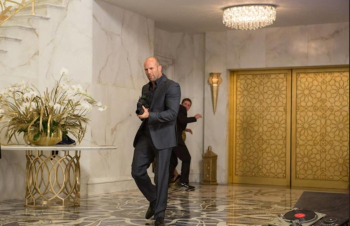 Jason Statham will be teaming up with Kevin Hart for Sony's next. (Credit: Facebook)