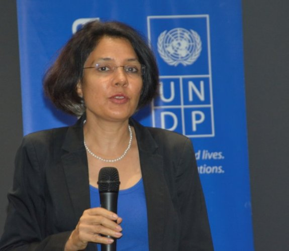 Sabharwal brings 25 years of experience in development, peacebuilding, governance and social policy across five Asian countries, including Maldives. Credit: Twitter (@UNDPSriLanka)