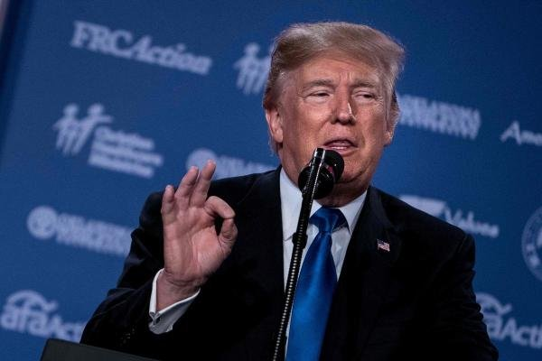 US President Donald Trump (AFP Photo)