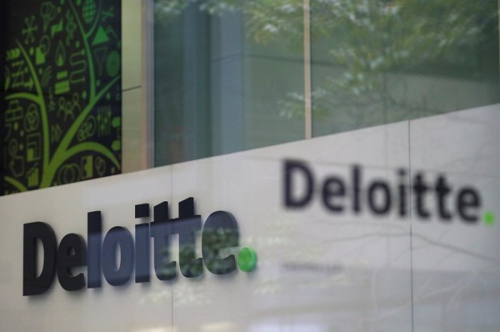 Deloitte logo. (Reuters Photo)