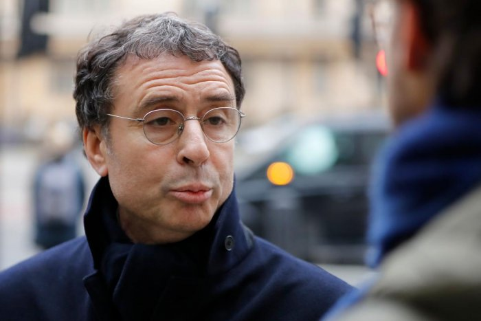 This file photo taken on January 21, 2019 shows French-Algerian businessman Alexandre Djouhri arriving at Westminster Magistrates court in central London to attend an extradition hearing. - Britain justice ordered on January 22, 2020 the extradition to France of Djouhri, arrested in London in connection with the investigation into alleged illegal Libyan financing of Nicolas Sarkozy's 2007 French presidential election campaign. AFP
