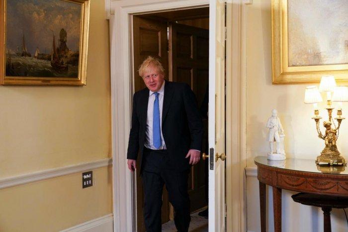 British PM Boris Johnson. AFP photo