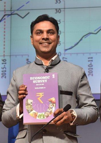 The Economic Survey for 2019-20, authored by Chief Economic Advisor K Subramanian