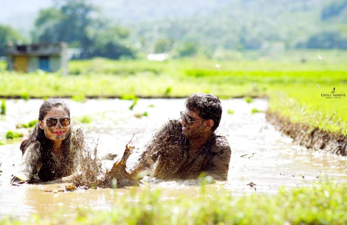 The infamous mud-love shoot. (Pic courtesy: Binuseens Cherian)