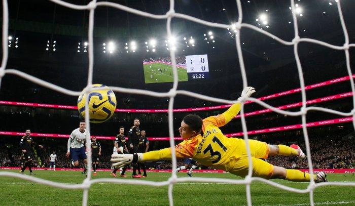 Tottenham Hotspur's Steven Bergwijn. (Reuters Photo)