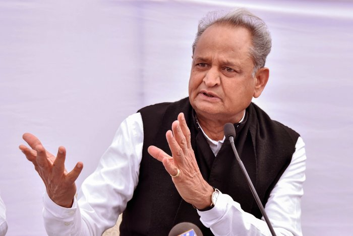 Rajasthan Chief Minister Ashok Gehlot. (PTI Photo)