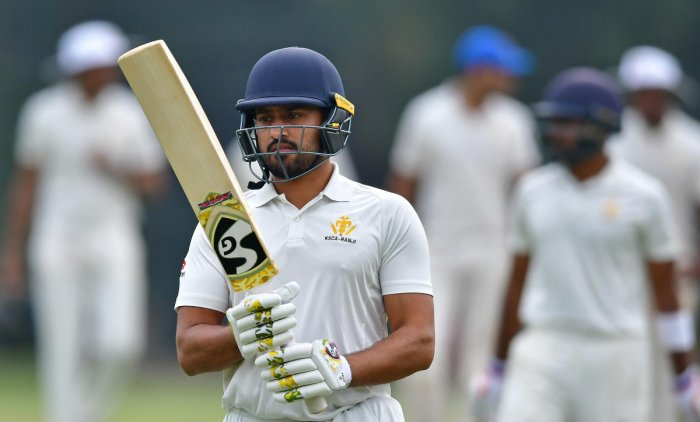 Karnataka skipper Karun Nair said his team must learn to maintain sustained pressure on the oppositions. DH FILE PHOTO