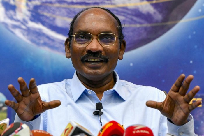 Chairman of the Indian Space Research Organisation (ISRO) Kailasavadivoo Sivan. (afp pHOTO)