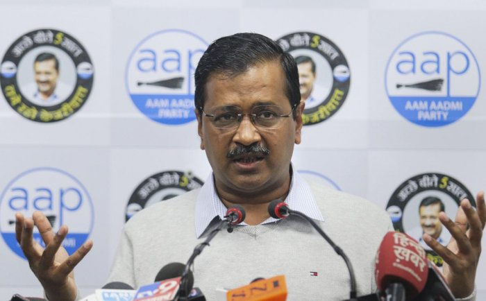 Delhi Chief Minister and AAP convenor Arvind Kejriwal. (PTI file photo)