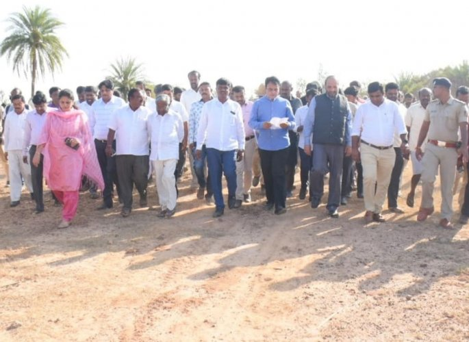 Proposing to set up a 'Knowledge City' at Amaravathi, the state government hopes to make the BNU as a model university in the state. (DHNS photo)