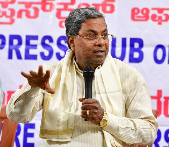 """""""I feel sorry for Yediyurappa as he has no freedom to induct ministers,"""" Siddaramaiah said."""