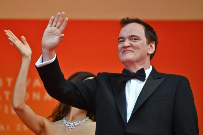 Quentin Tarantino once threatened to beat up host David Letterman. (Credit: AFP photo)