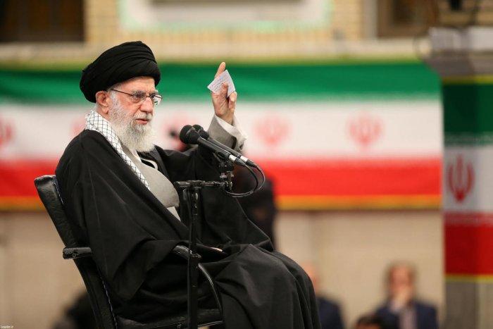 Iran's supreme leader Ali Khamene. (AFP Photo)