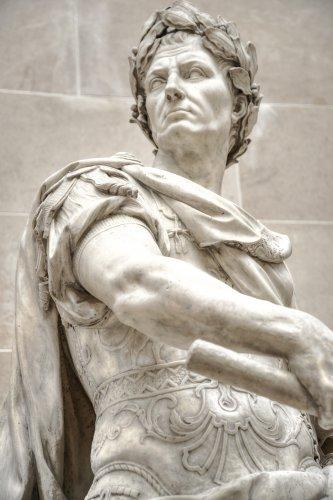 Julius Caesar statue. (File Photo)